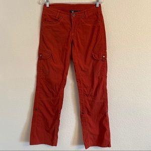 Kuhl dark pink cargo pants Size 4